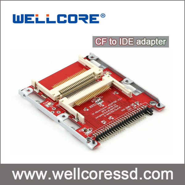 "Best quality Dual CF to 44pin 2.5"" IDE Adapter Compatible with DOS, Windows 3.1, NT4, 98SE, Me, 2000 and XP, Vista, Unix, Linux"