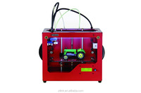 Fused Deposition Modeling(FDM) Technology Red Color Different Size 3D Printer Using ABS,PLA,PC, PVA Material