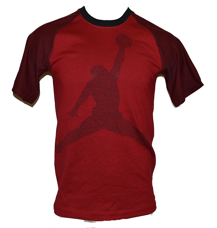 746193c65fd696 Get Quotations · Jordan Men s Jordan Jumbo Jumpman T-Shirt Red Black