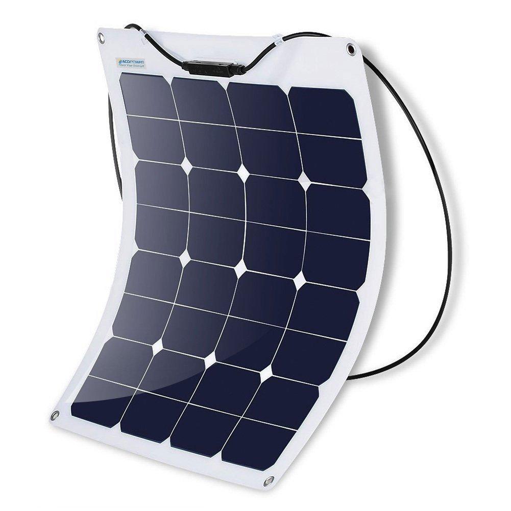 100W 18V 5A Monocrystalline Flexible Solar Panel Solar