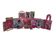 Disney Minnie Mouse Artset & Electronic Purse Book Gift Basket