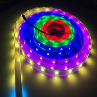 Digital full color 5V ws2801 led strip lights price in india