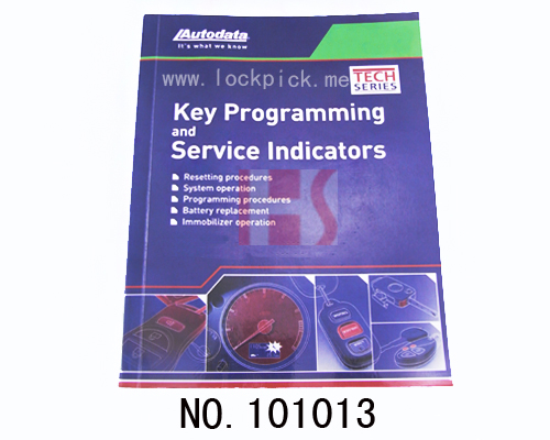 High quality Worldwide car remote Key Programming and Service Indicator locksmith <strong>book</strong> 101013