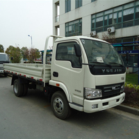 small 3-5 tons sand garbage tipper truck