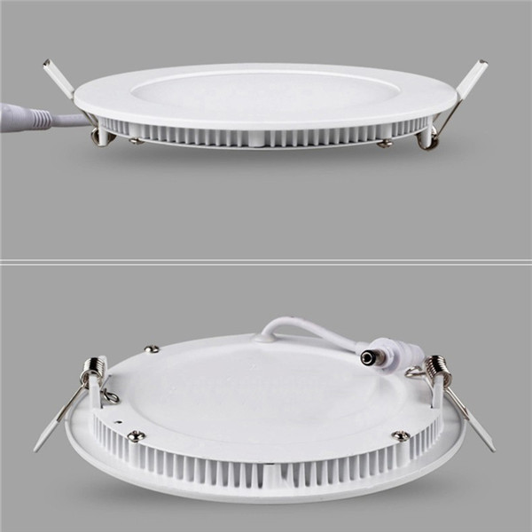 Retrofit LED Recessed Lighting Fixture Frameless 200mm 18w Circle Led Panel Square And Round