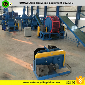Wasye tyre recycling machine for making rubber powder