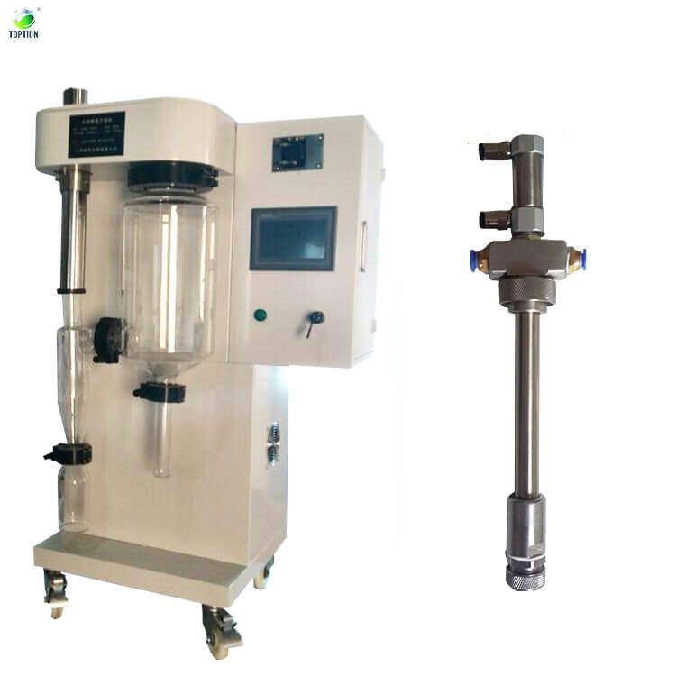 Laboratory Mini Herbal Extract Powder Spray Dryer For Ceramic,Instant Tea,Flavoure Meat,Protein,Soy