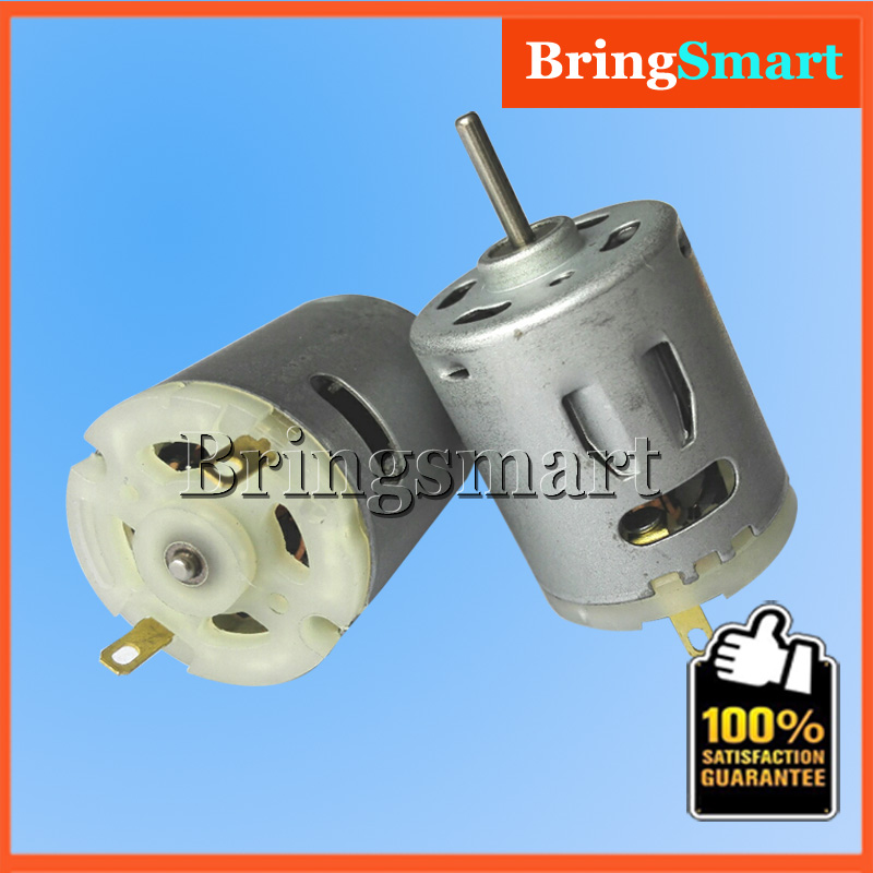 18v DC High Speed Motor 24v 6300-19400r/min 15v for Rc Car Boat Hair dryer Motor 7.2v RS 360 365