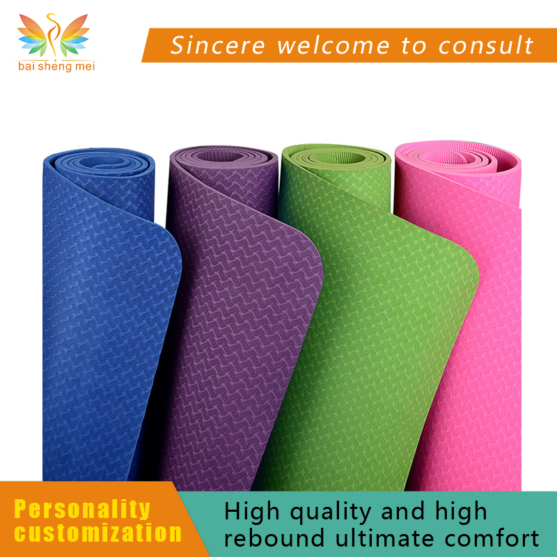 customized floor mat yoga mat wholesale factory