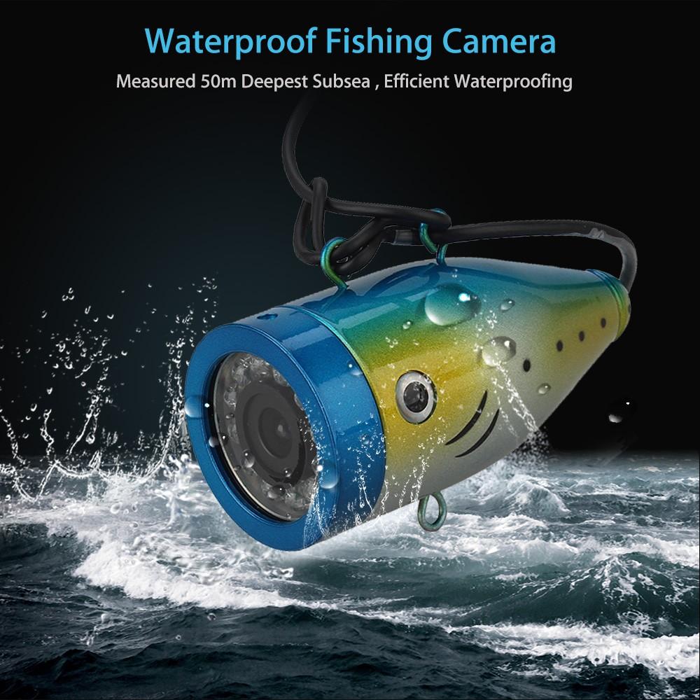 Eyoyo original 30m wireless wifi fish finder underwater for Underwater ice fishing camera