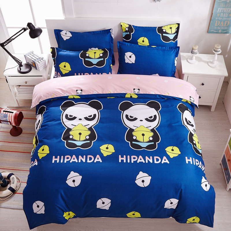 panda couette promotion achetez des panda couette. Black Bedroom Furniture Sets. Home Design Ideas