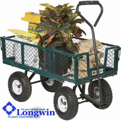 Handcart trolley metal plant trolley