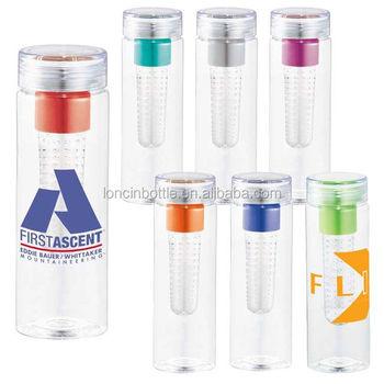 2014 New Tritan Flavor Infuser Water Bottle Glass Flavor
