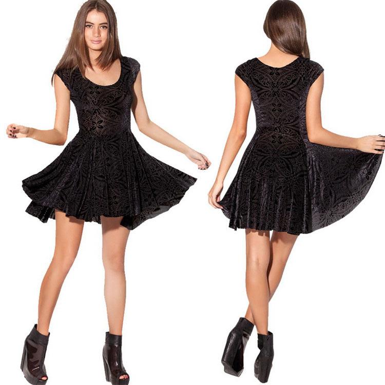 Cheap Velvet Skater Dresses, find Velvet Skater Dresses ...