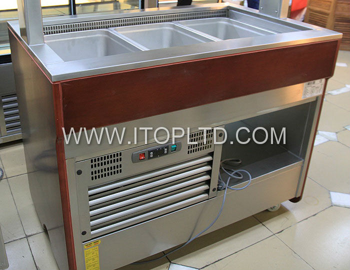 Commercial Refrigerated Counter Top Salad Bar - Buy ...
