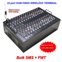 Multi 16 port 64 sims,32 port128 sim,GSM sms gateway modem pool for Bulk sms and Voip function