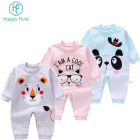 Hot! New print newborn baby girl baby boy clothing romper