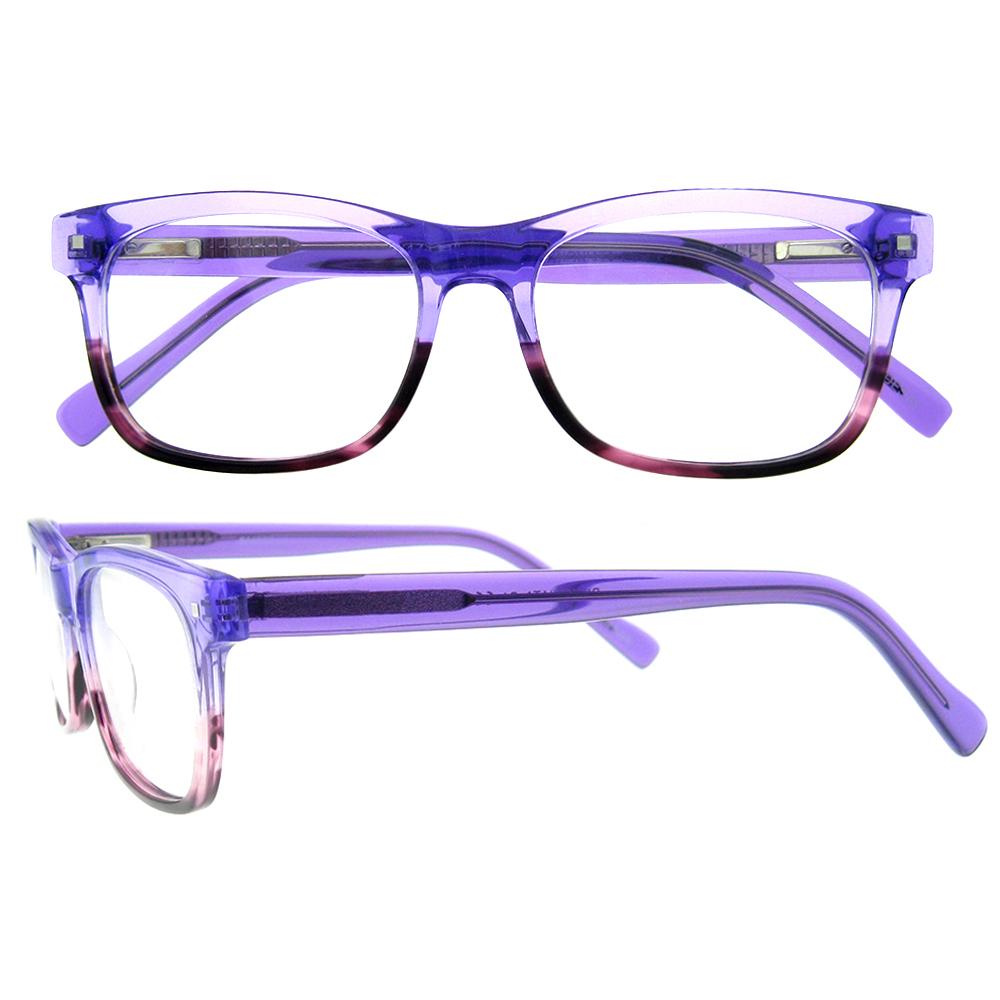 Großhandel zweifarbige brillengestelle Kaufen Sie die besten ...