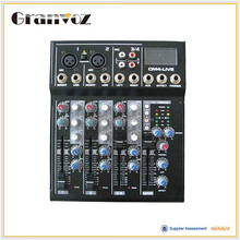 Professional design low price usb audio interface mixer