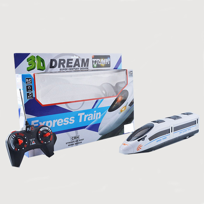 4 CH Express Train CRH RC Car Electric Remote Control Toy with Light and Music