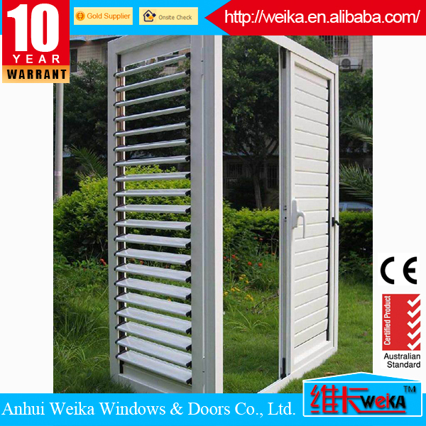 modern quality french pvc window shutter