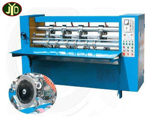 Henan Computerized Thin Blade Slitter Line Pressing Machine For Corrugated Cardboard/ carton Production Line