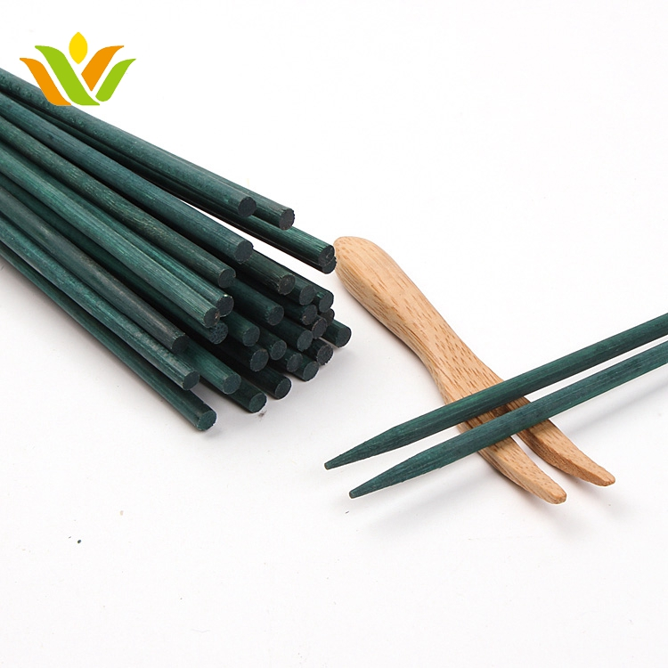 wholesale green bamboo plant stick