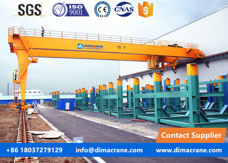 2 ton Europe style trackless gantry cranes