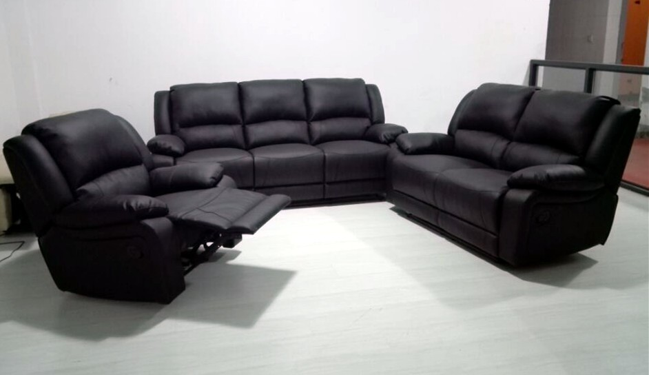 Premium quality cheap sectional leather sofa motion sofa for Cheap good quality sofas