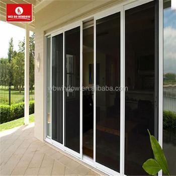 Modern Wardrobe Glass Sliding Doorspvc Sliding Glass Door Buy