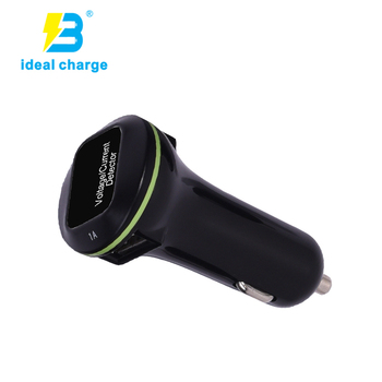 5V 3100mA Micro Auto Charger for iPhone 6 6s 5G phone USB Car Charger with current indicator