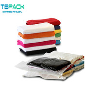 Compressible 80% more space vacuum bags for travel/vacuum pack bags for clothes/vacuum clothes storage bags