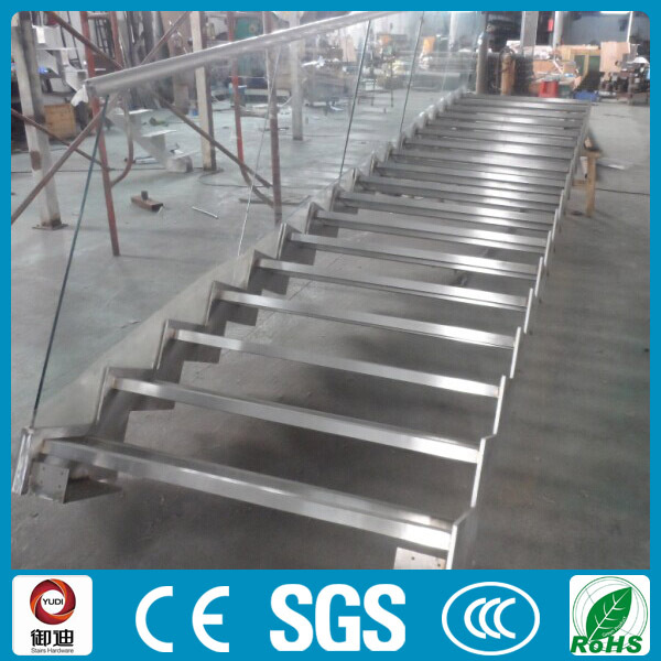 Commercial Projects Outdoor Metal Fire Escape Straight