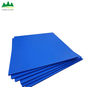 Green PP Plastic Layer Pad Good Strength PP Hollow Corrugated Plastic Sheet