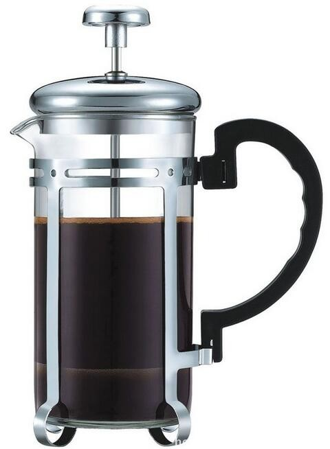 Triple Filter 8 Cup French Press Coffee Plunger In Chrome 34 Oz Espresso And Tea Maker - Buy ...