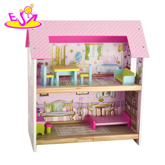 Venta al por mayor muebles de madera para muñecos-Compre online los ...