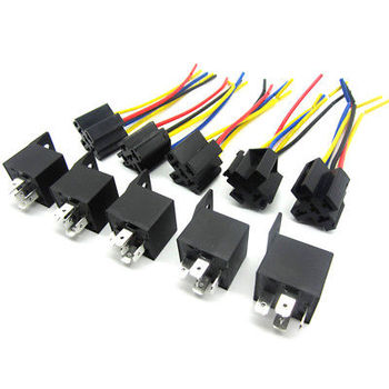 Brilliant Dc 12V Car Spdt Automotive Relay 5 Pin 5 Wires W Harness Socket 30 Wiring Digital Resources Xeirawoestevosnl