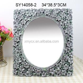 Resin Rectangle Ornate Mirror Frame Villa Decoration Buy Ornate Mirror Frame Rectangle Mirror Frame Mirror Frame Villa Decoration Product On Alibaba Com