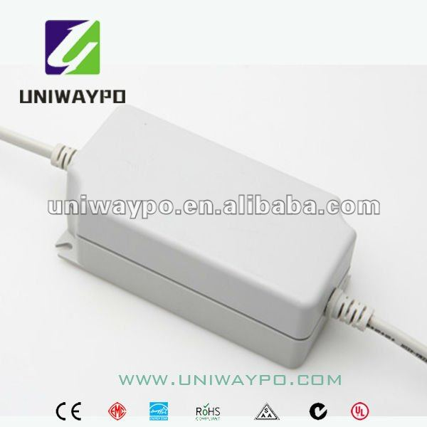 24W 12V AC DC Power Adapter White 12V 2000MA Power Adapter