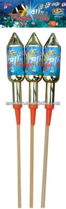 1.4G UN0336 big rocket fireworks for sale