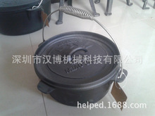 [Camping] [cast iron pot stew pot pot Netherlands] \ Korea trade of the original single camping pot factory direct grant
