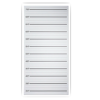 Custom Paper Height Measure Growth Chart Ruler Buy Height Chart