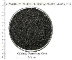 1-5mm High FC Low S Calcined Pet Coke