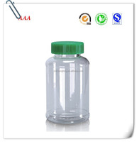 Wholesale 300ml Clear Pharmaceutical Pet Plastic Bottle for Tablets