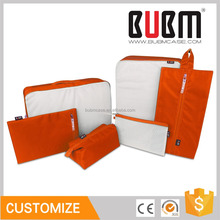 BUBM 6 sets Packing Cubes for Travel Luggage Organizer for Clothing Laundry Bag for Underwares Bras Toiletry Bags for cosmetics