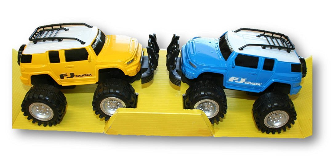 Friction Powered Toyota FJ Cruisers, 7 Inch