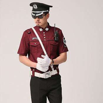 2016 New Design Security Guard Uniform