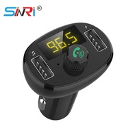 Sinri New Fasion Handsfree Wireless Bluetooth Car usb MP3 music Player With fm transmitter