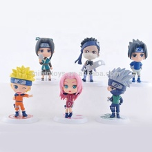 6 pz/<span class=keywords><strong>set</strong></span> giapponese carino <span class=keywords><strong>naruto</strong></span> anime del pvc serie di action figure di <span class=keywords><strong>naruto</strong></span> fornitori di partito <span class=keywords><strong>naruto</strong></span> figura