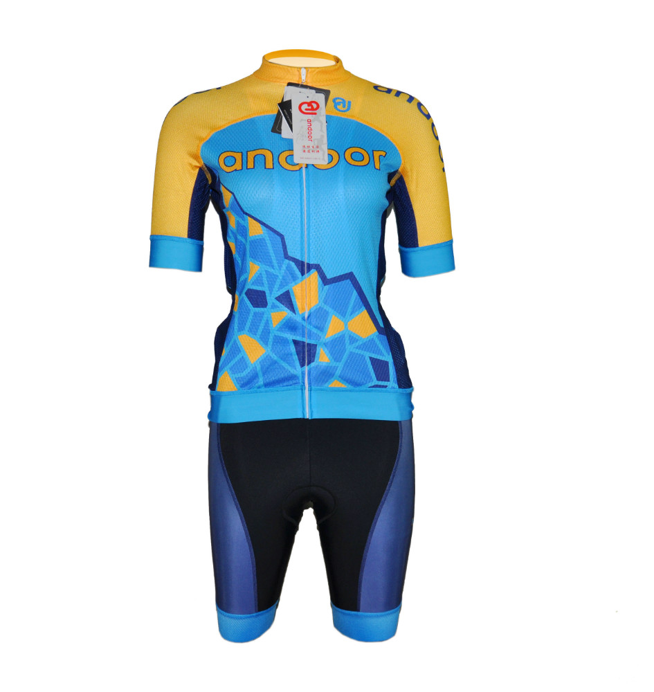 cycling jersey Italy fabric Andoor high quality cool design men's cycling clothes custom blank sublimation comfortable cycling
